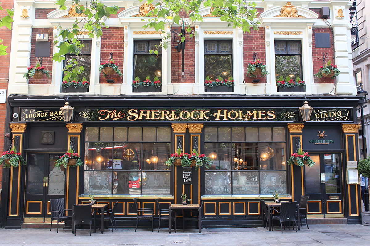 Sherlock Holmes Walking Tour of London for Two