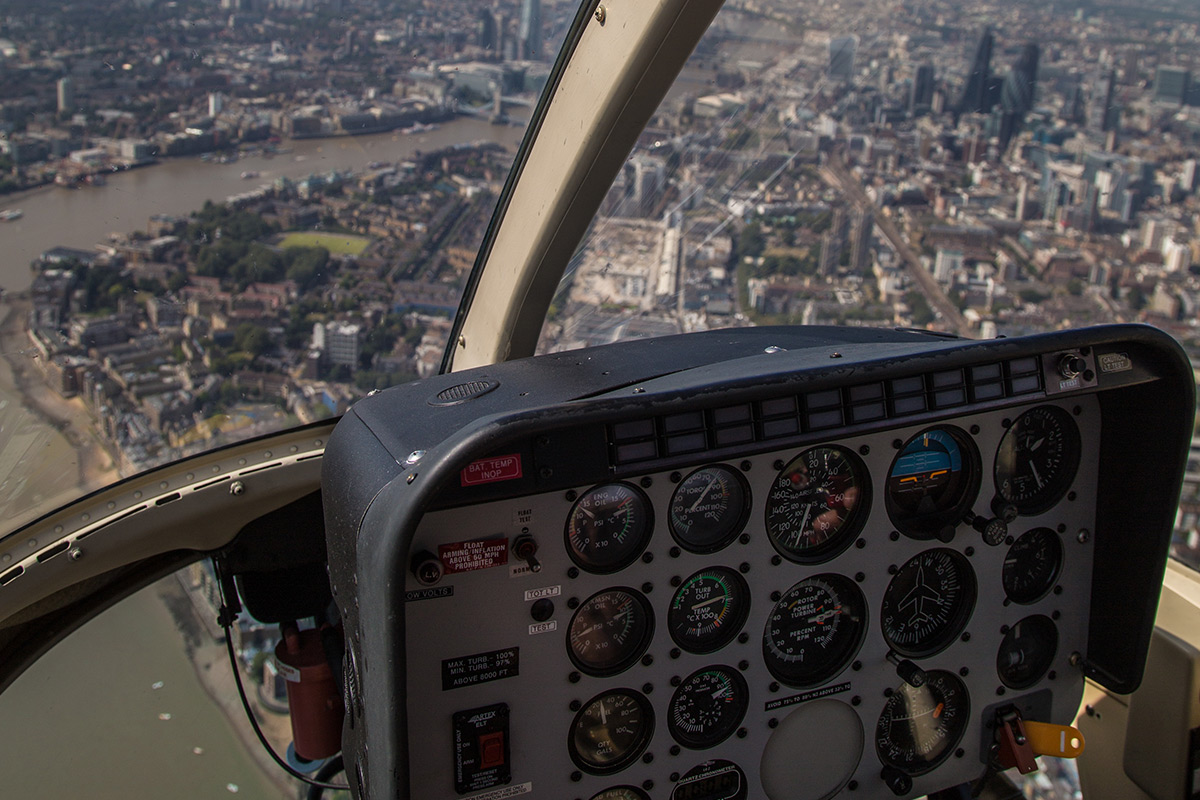 Dam Busters Sightseeing Helicopter Ride