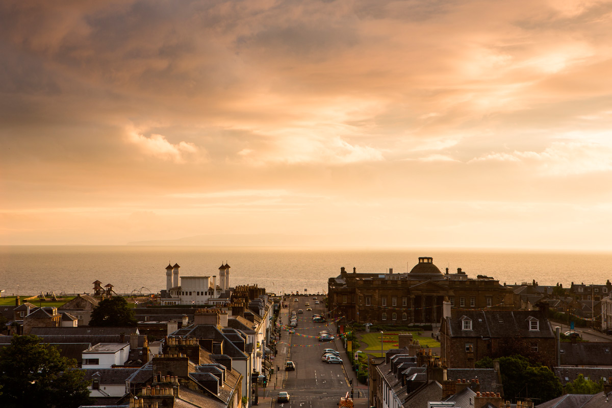 One Night Break with Dinner for Two at the Mercure Ayr Hotel