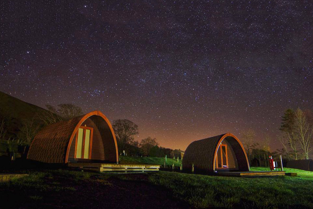 One Night Glamping Break at the Quiet Site, Lake District
