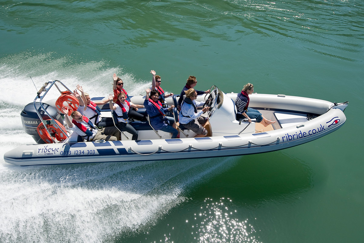North Wales RIB Ride for One Adult