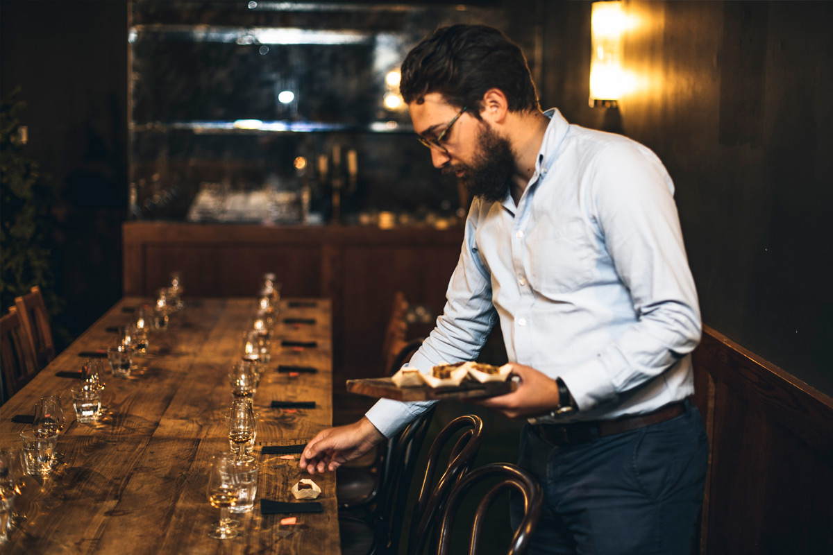 Drams in The Dark Whisky Tasting Experience for Two at Mac & Wild