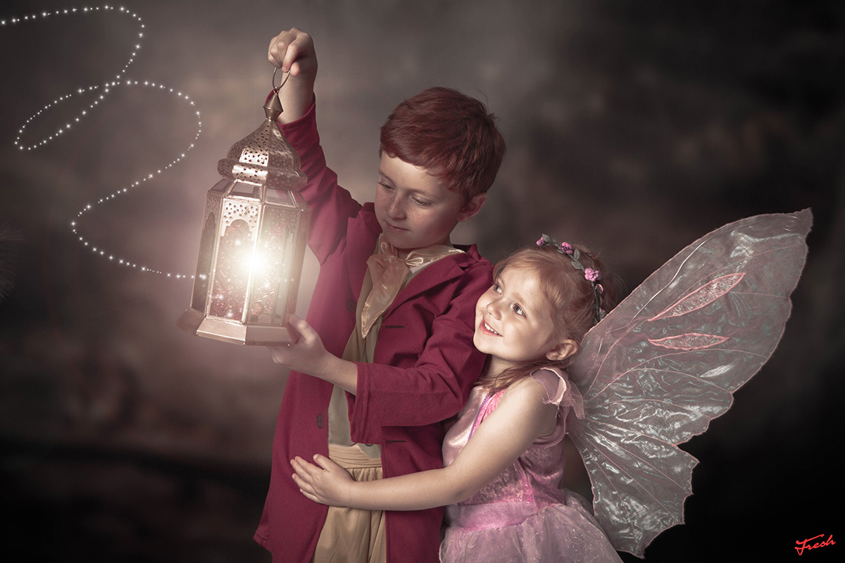 Enchanted Fairy and Elf Photoshoot Experience for Two
