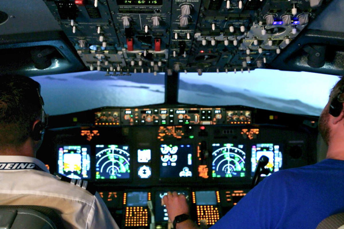 Flight Simulator Experience Aboard a Boeing 737 - 120 minutes