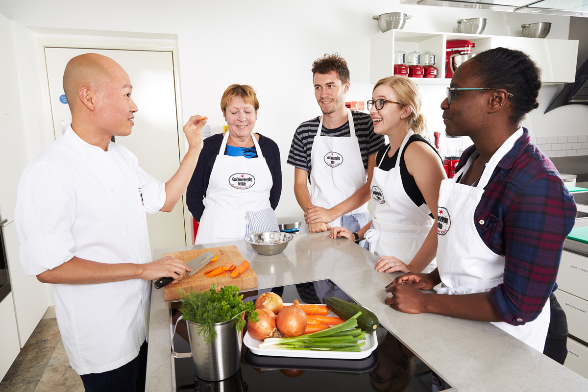 Full Day Cookery Course at The Good Housekeeping Institute Cookery School