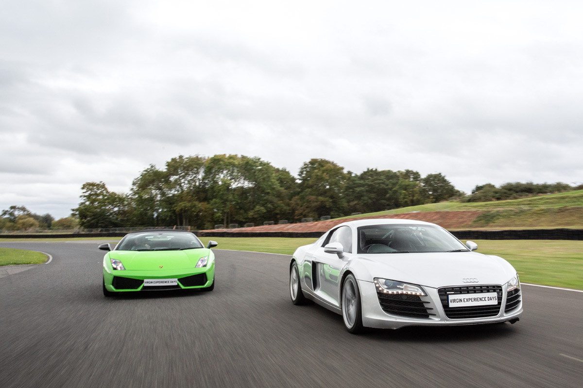 Junior Double Supercar Driving Thrill
