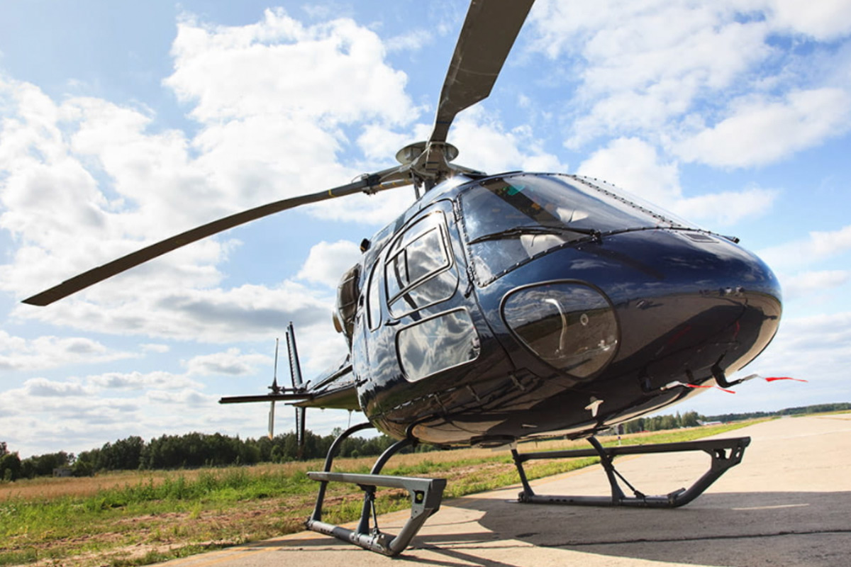 LONDON HELICOPTER SIGHTSEEING TOUR FOR TWO