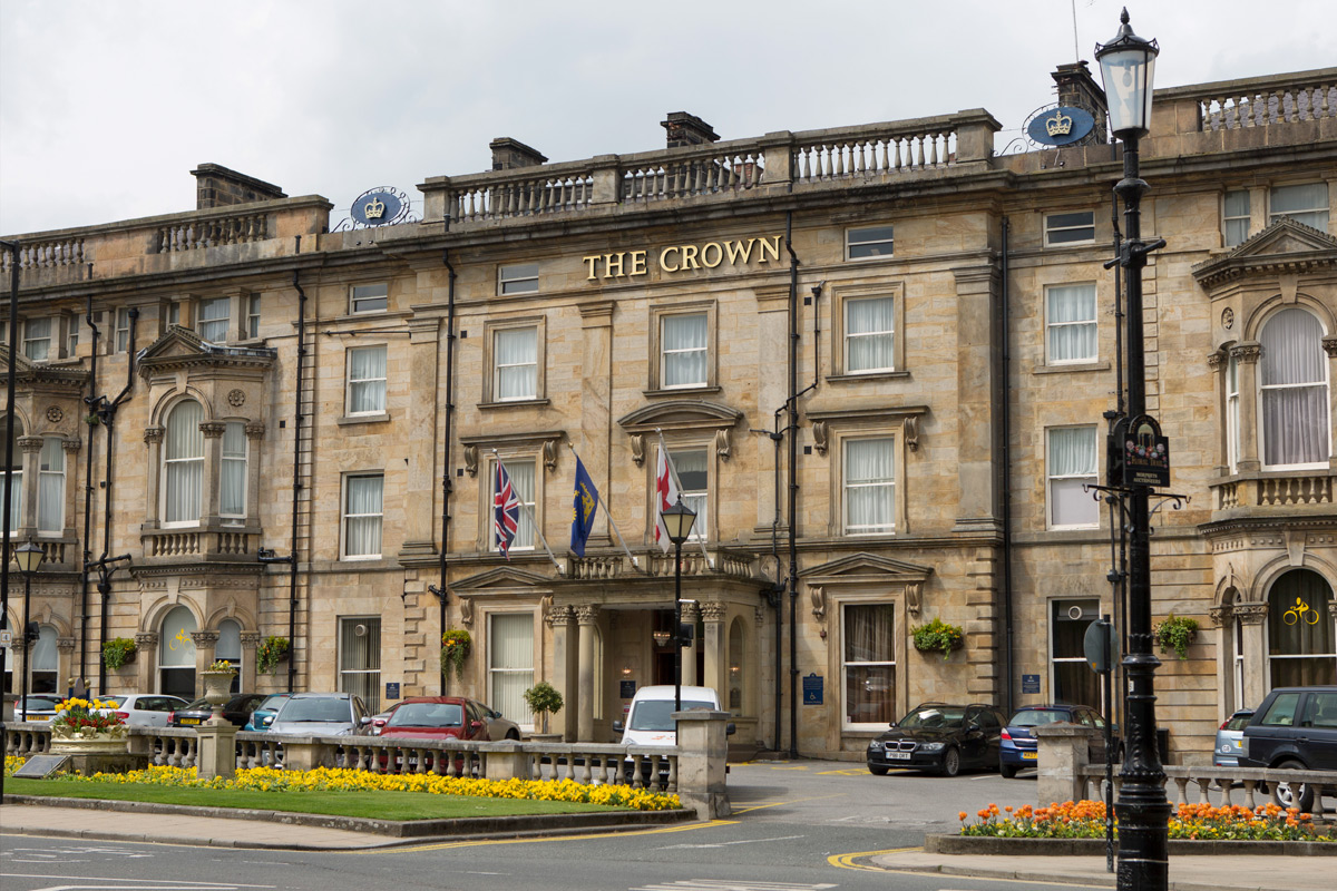One Night Break for Two at The Crown Hotel, Harrogate