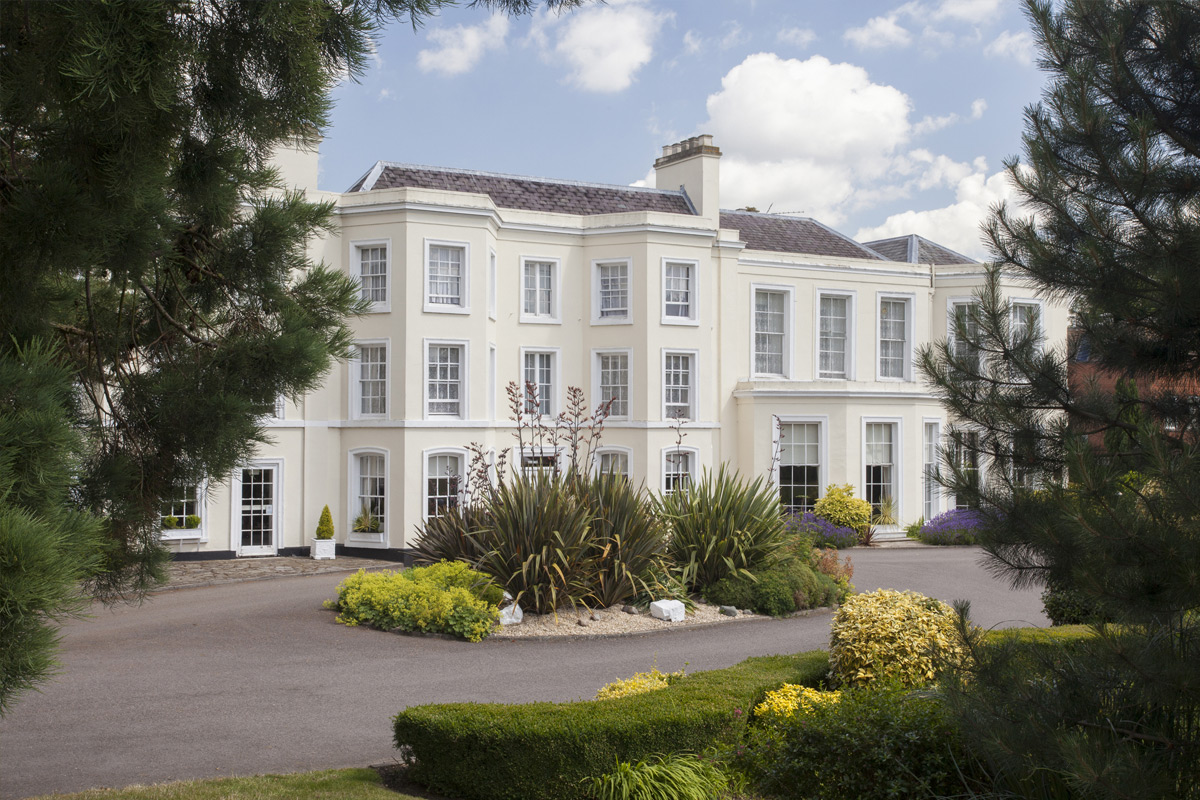 One Night Break with Dinner for Two at The Burnham Beeches Hotel