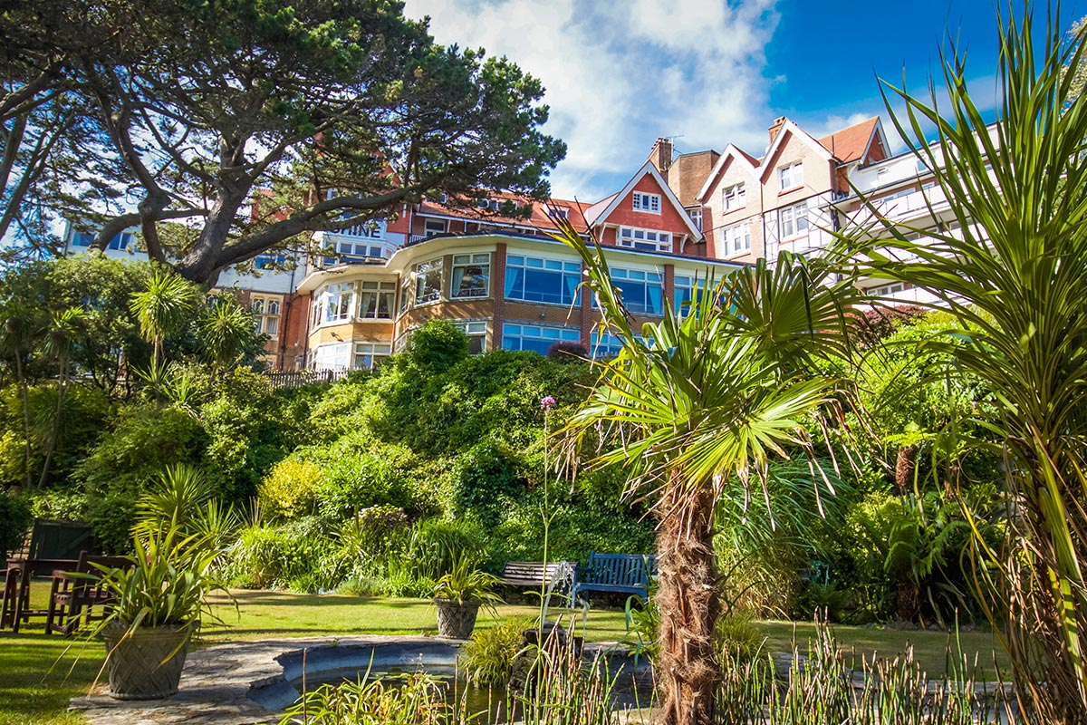 One Night Coastal Escape for Two at The Chine Hotel, Bournemouth
