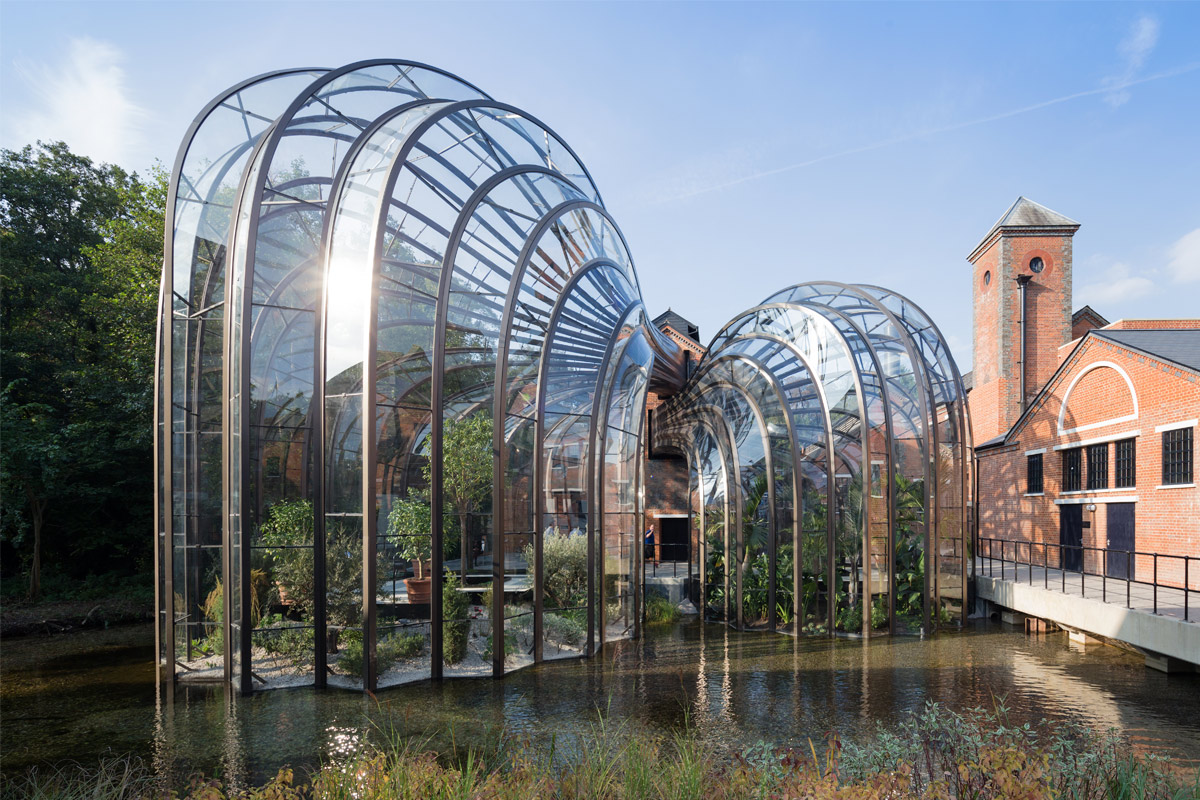 One Night Country Hotel Break with Dinner & The Bombay Sapphire Distillery Self Discovery Tour with Gin Cocktail for Two