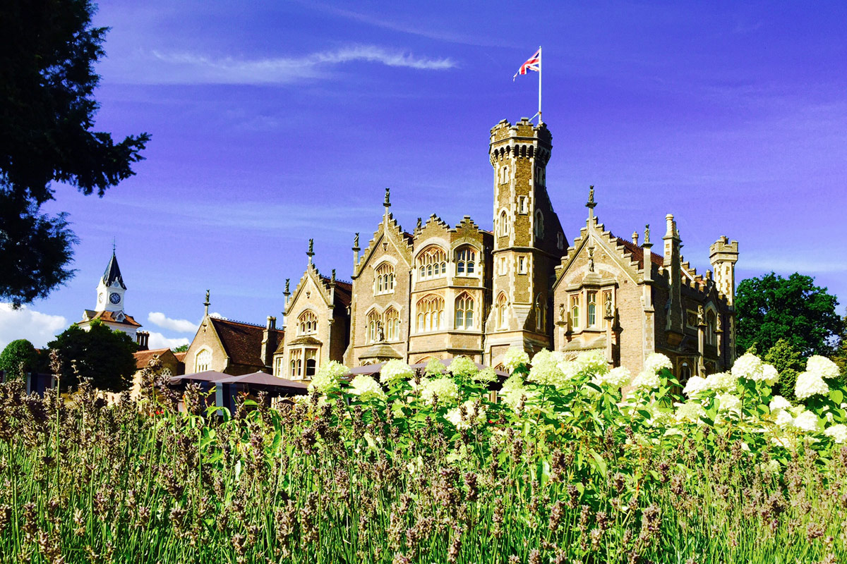 One Night Luxury Riverside Escape with Dinner at The Oakley Court and Visit to Windsor Castle for Two