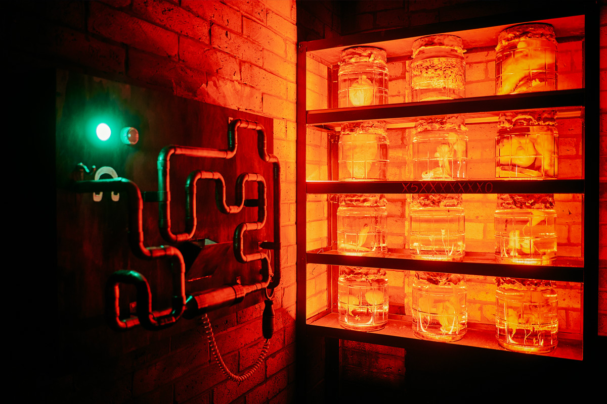 Psychopath's Den Escape Room Game for Two