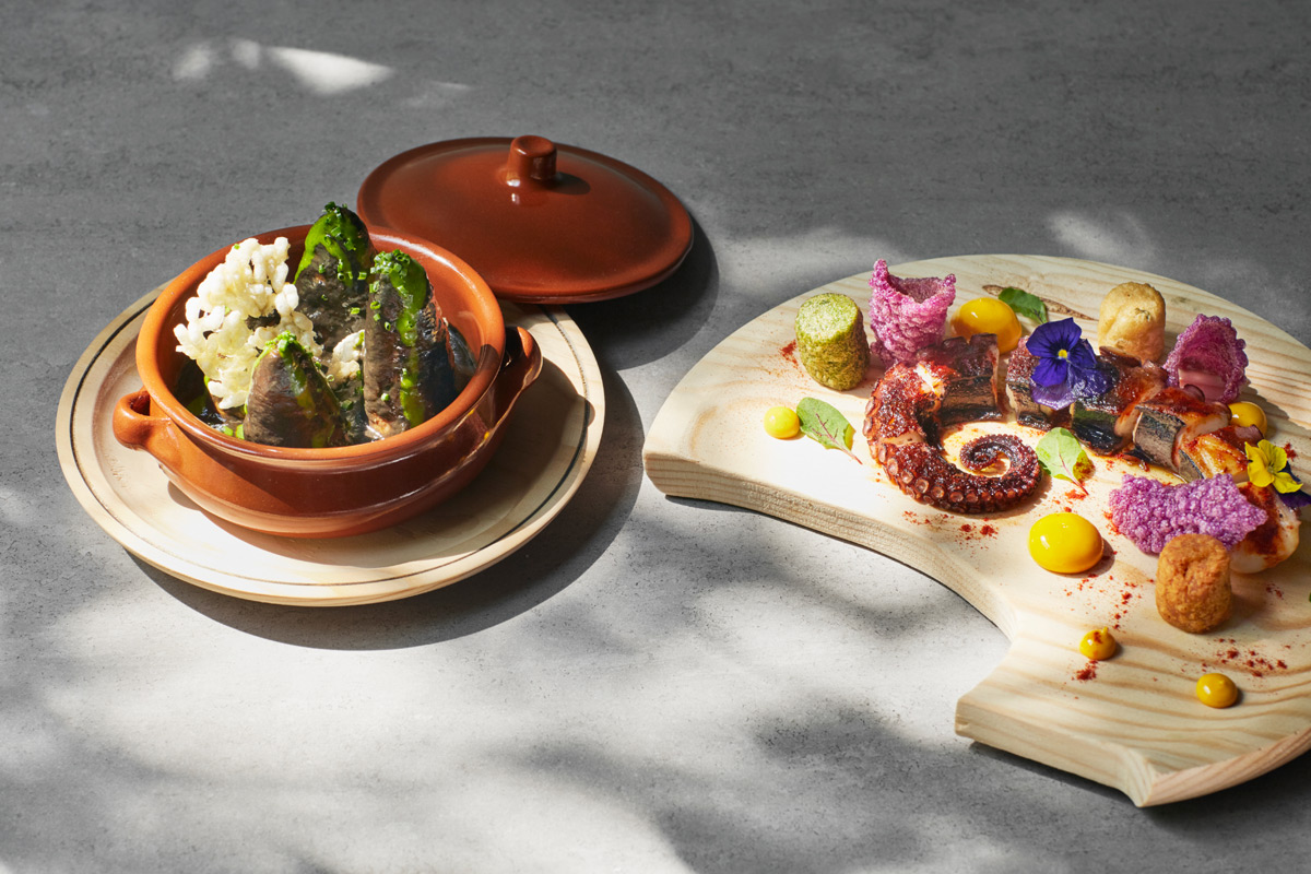 Seven Dish Sharing Menu with a Flight of Wines for Two at Ametsa with the 5* COMO The Halkin hotel