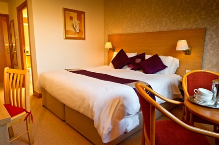 One Night Break with Dinner for Two at Bagden Hall Hotel