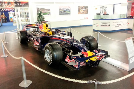Visit to Donington Grand Prix Collection for One Adult