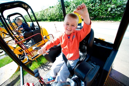 Diggerland Admission for Two