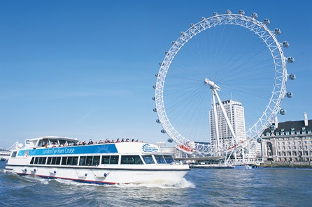 Family One Night London Break with Visit to The Coca-Cola London Eye and Thames Sightseeing Cruise