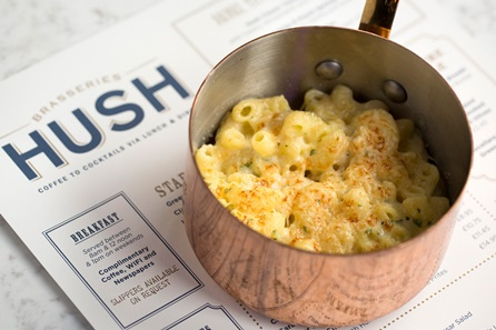 Three Course Meal and Cocktail for Two at Hush Brasseries