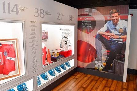 Liverpool FC Stadium Tour & The Steven Gerrard Collection for One Adult