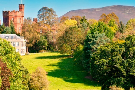 One Night Escape for Two at Ruthin Castle