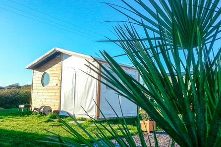 Timber Tent Summer Weekend Retreat on the Gower Coast