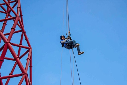 Abseil from the ArcelorMittal Orbit for Two