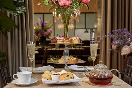 Afternoon Tea and Cocktail for Two with Flower Posey at The Petersham, Covent Garden