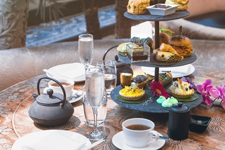 Afternoon Tea with Free Flowing Prosecco for Two at Gilgamesh