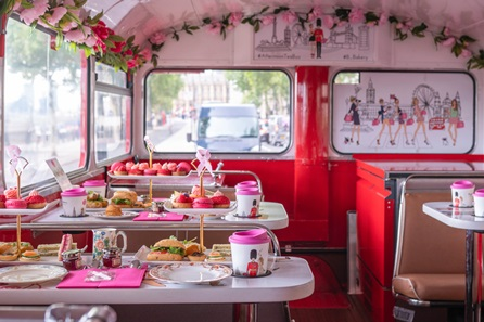 B Bakery Vintage Afternoon Tea Bus Tour for Two