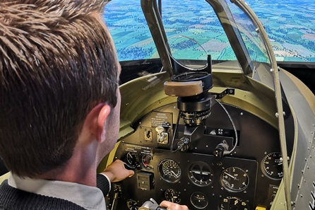 Battle of Britain Dogfight Simulator for Two