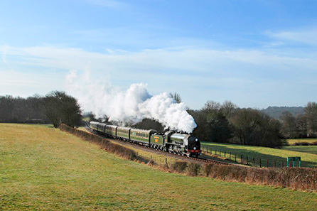 Bluebell Railway Steam Train Trip for Two
