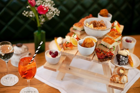 Bottomless Bellini Italian Afternoon Tea for Two at Theo Randall's Simple Italian