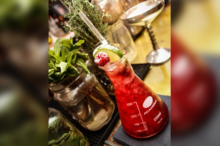Bourbon and Cocktail Tasting for Two in an Alice in Wonderland Inspired Speakeasy Bar