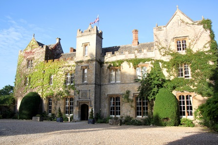 Champagne Afternoon Tea for Two at The Manor Country House Hotel