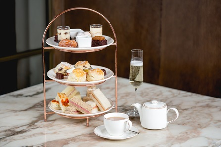 Charbonnel et Walker Chocolate Afternoon Tea with Champagne for Two at The 5* May Fair Hotel