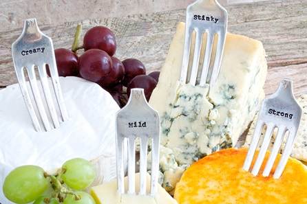 Cheese Markers - Stinky, Mild, Creamy and Strong