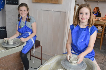 Children's Throw Your Own Pot and Decorate at Honeybourne Pottery Studio