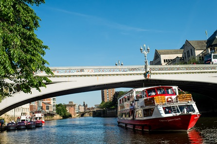 City of York Winter Sightseeing River Cruise for Two