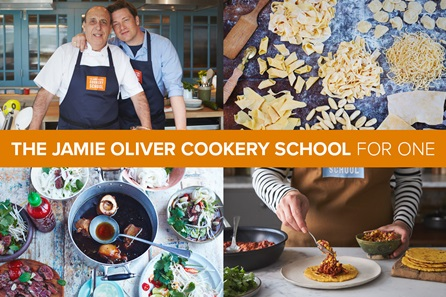 Cookery Class at Jamie Oliver's Cookery School