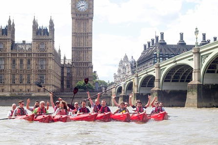 Discover London Thames Kayaking Experience for Two