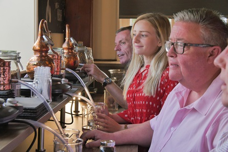Distiller for a Day with Tastings and Dining for Two at Gin Jamboree