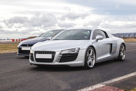 Double Supercar Driving Experience with Overnight Stay