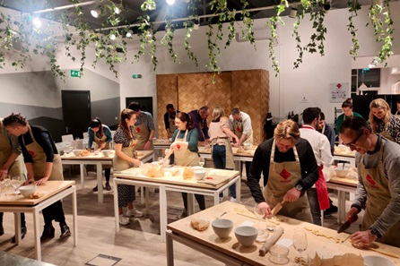Filled Pasta Making Class with Prosecco for Two at the Bellavita Academy