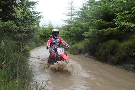Full Day Ladies Only Off Road Motorcycle Riding Experience for One