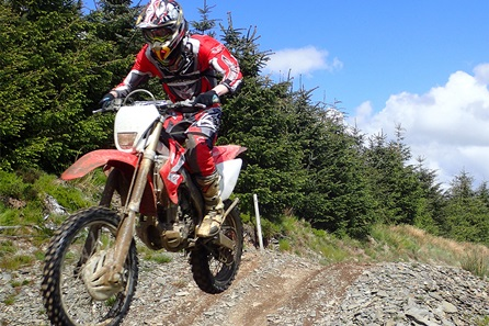 Full Day Off Road Motocross Track Experience for One
