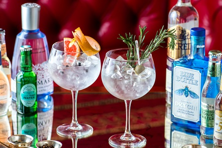 Gin Tasting with Sharing Dishes for Two at the 4* Rubens at the Palace Hotel, London