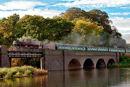 Great Central Railways Steam Train Afternoon Tea Experience for Two