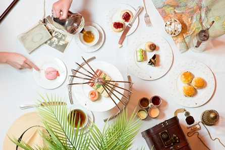 High Tea for Two at the 5* Art Deco Sheraton Grand London, Park Lane