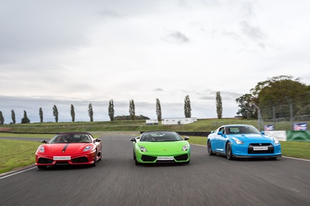 Junior Triple Supercar Driving Thrill